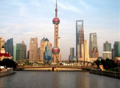 Wallpapers Trips : Asia Baie de Shanghai