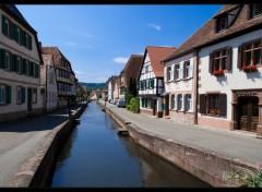 Fonds d'écran Constructions et architecture Village Alsacien