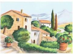 Fonds d'écran Art - Crayon Provence