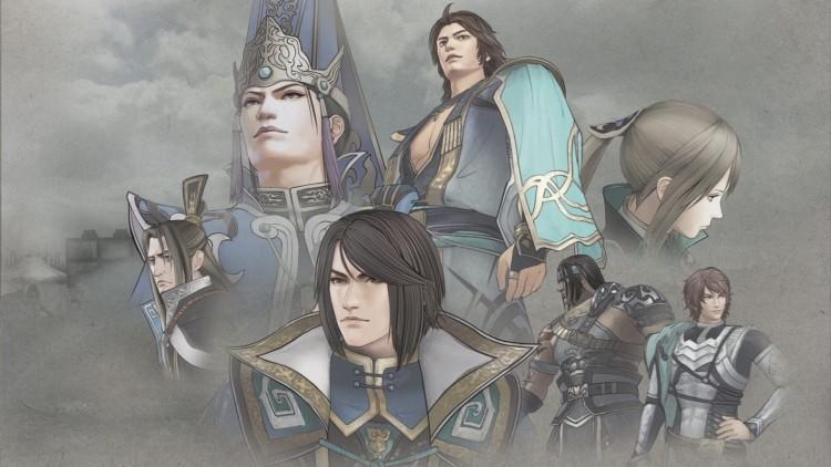 Fonds d'écran Jeux Vidéo Dynasty Warriors 7 Credits - Jin