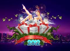 Fonds d'écran Art - Numérique Merry Christmas 2012