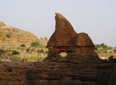 Fonds d'écran Voyages : Afrique falaises de bandiagara