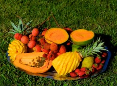 Wallpapers Trips : Africa Fruits des îles...
