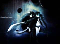Fonds d'écran Manga Black★Rock Shooter