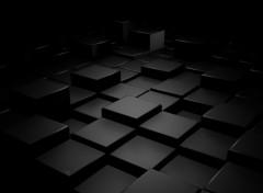 Fonds d'écran Art - Numérique Dark blocks