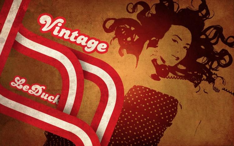 Fonds d'écran Art - Numérique Femmes - Féminité wallpaper vintage