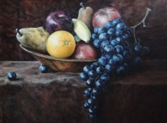 Wallpapers Art - Painting Fruits