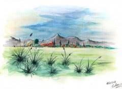 Fonds d'écran Art - Peinture Paysage