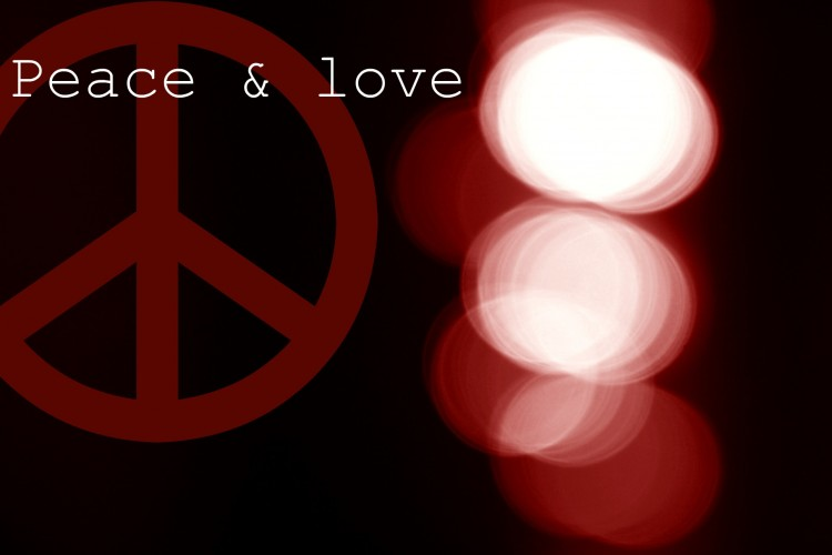 Wallpapers Digital Art Abstract Peace & love