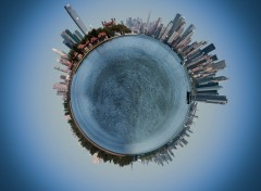 Wallpapers Digital Art My little big apple's planet
