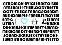 Fonds d'écran Musique I Love House Music