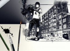Wallpapers Art - Painting Street Art