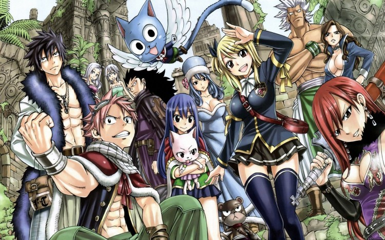 Wallpapers Manga Fairy Tail Fairy Tail