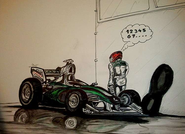 Fonds d'écran Art - Crayon Sports Schumacher