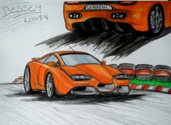 Wallpapers Art - Pencil Supercar