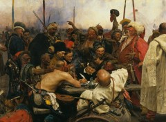 Wallpapers Art - Painting Cossacks