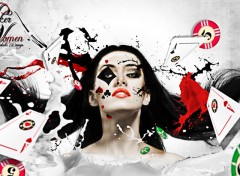 Fonds d'écran Art - Numérique Poker Women ;-)