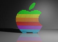 Wallpapers Digital Art Apple 3D