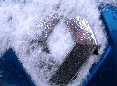Wallpapers Cars Logo Renault Neige