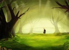Wallpapers Digital Art Spiritual Forest