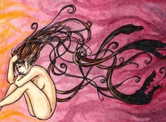 Wallpapers Art - Painting Entre ombres et cauchemars