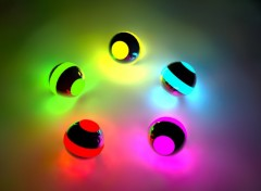 Wallpapers Digital Art Boules Lumineuses