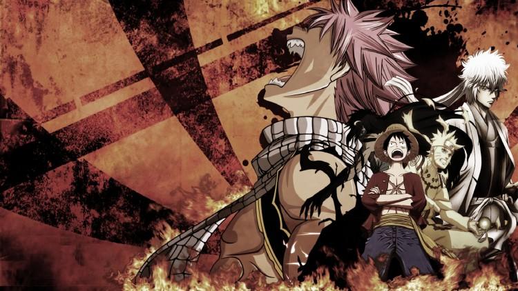 Fonds d'écran Manga Fairy Tail Natsu