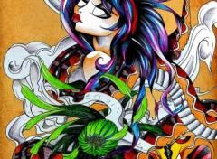 Wallpapers Art - Pencil Tattoo Snake