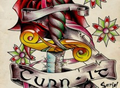 Fonds d'écran Art - Crayon Tattoo Old School
