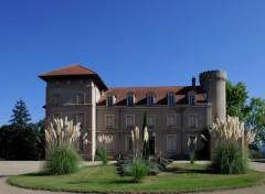 Fonds d'écran Constructions et architecture Chateau le grand Clos , Cuzieu ,Loire 42