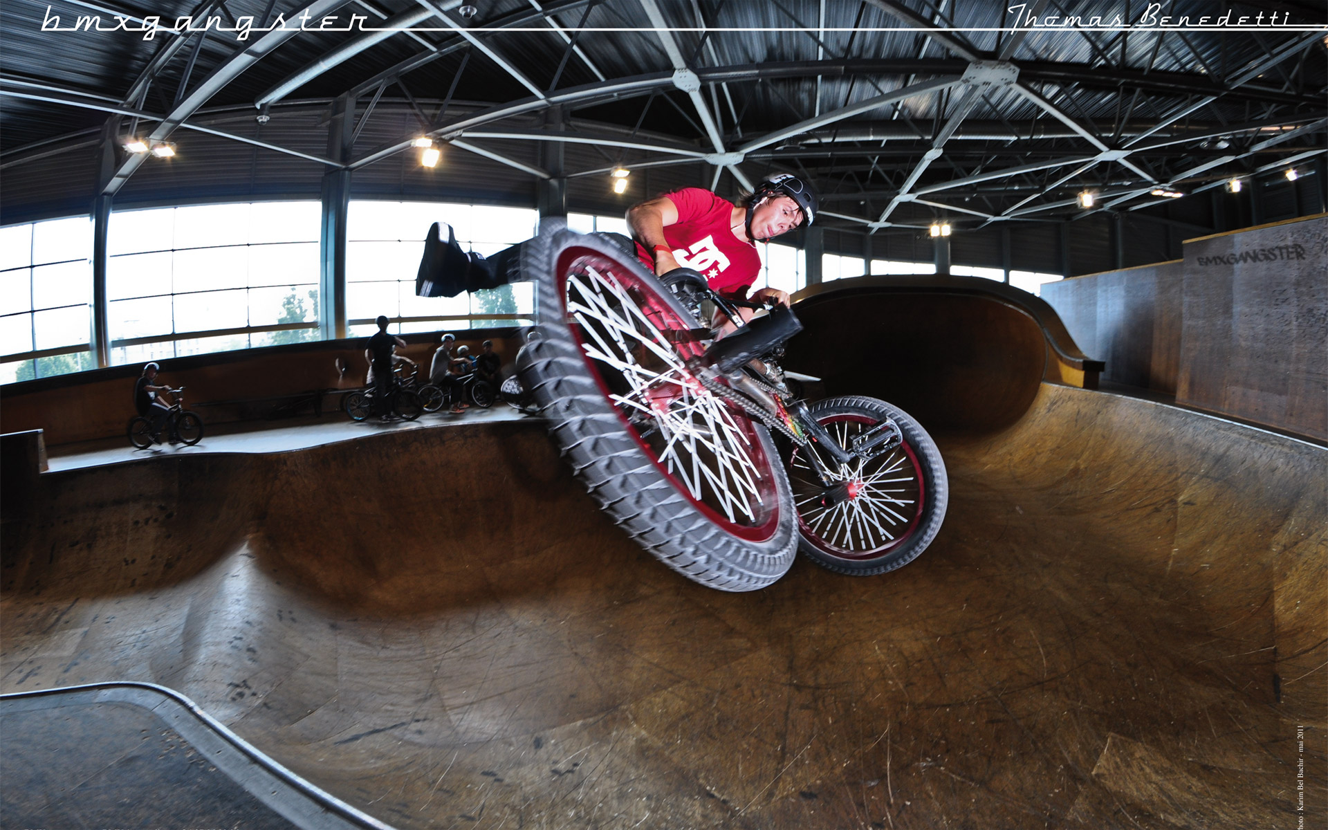 Wallpapers Sports - Leisures BMX bmxgangster team - thomas benedetti