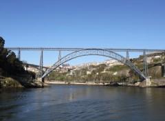 Constructions and architecture Porto - Pont Maria Pia sur le Douro