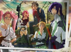 Manga highschool of the dead