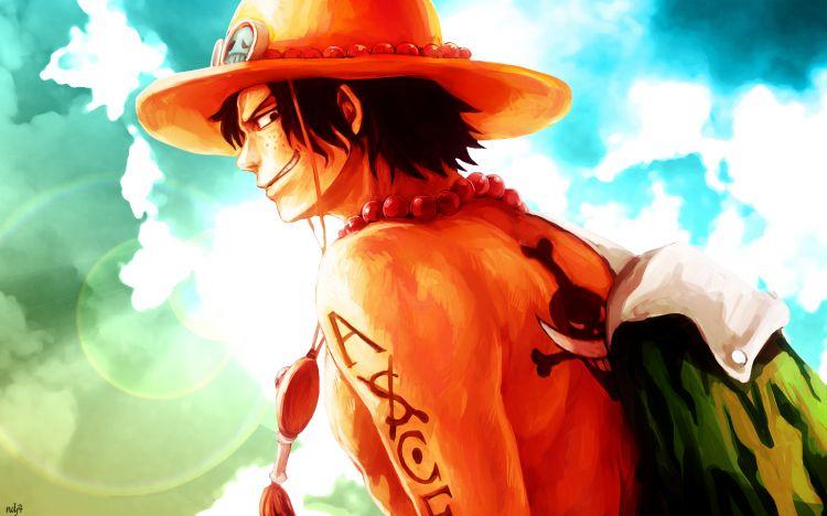 Fonds d'écran Manga One Piece Ace