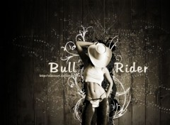 Digital Art Bull Rider