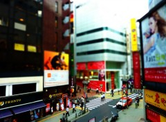 Voyages : Asie shibuya tilt shift