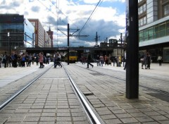 Various transports Tramway à l'Alexander Platz