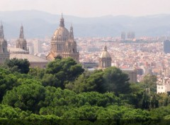 Voyages : Europe Barcelone depuis le funiculaire