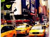 Voyages : Am�rique du nord Taxi Jaune N-Y