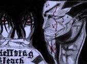 Art - Crayon Hellsing Bleach
