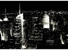 Trips : North America New York Black & white