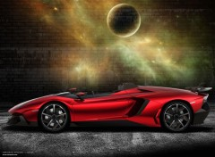 Voitures Lamborghini Aventador Concept 2012 by bewall