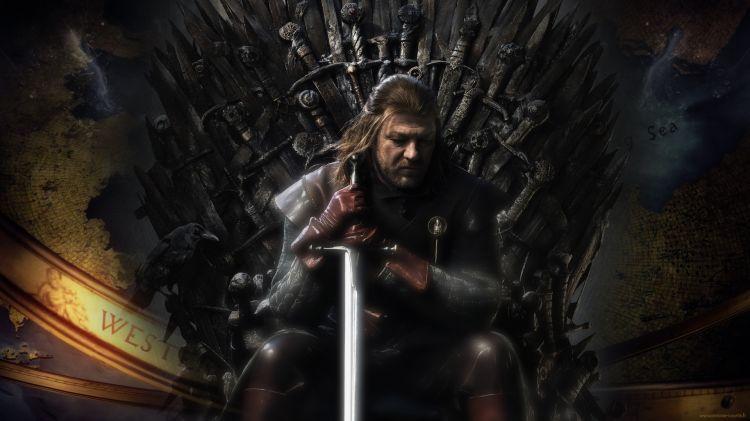 Fonds d'écran Séries TV Le Trône de Fer : Game Of Thrones Game of Thrones - Eddard Stark