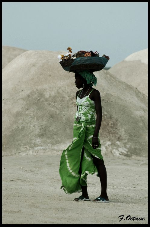 Fonds d'écran Voyages : Afrique Sénégal Sénégalaise au lac Rose