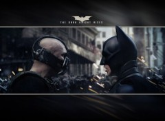Cinéma The Dark Knight Rises 2560x1600 - Bane vs Batman