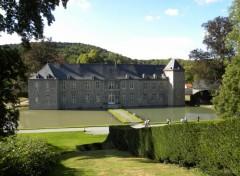 Constructions and architecture jardins d'annevoie