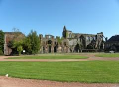 Constructions and architecture abbaye d'aulne 2 belgique