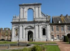 Constructions and architecture abbaye d'aulne 3 belgique