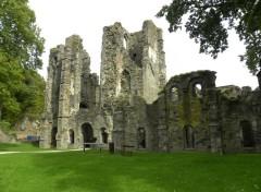 Constructions and architecture ruine de l'abbaye de villers la ville  belgique