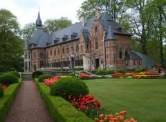 Constructions and architecture château de grand bigard belgique